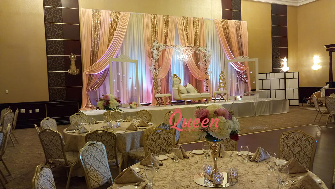 Markham Convention Centre Queen Wedding Decor