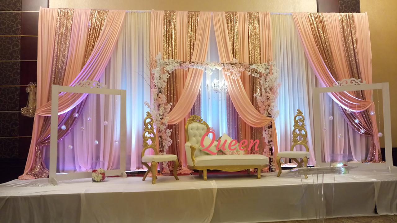 Wedding decorations toronto markham and mississauga for Back ground decoration