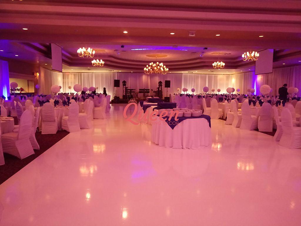 Speranza Restaurant & Banquet Hall   Queen Wedding Decor