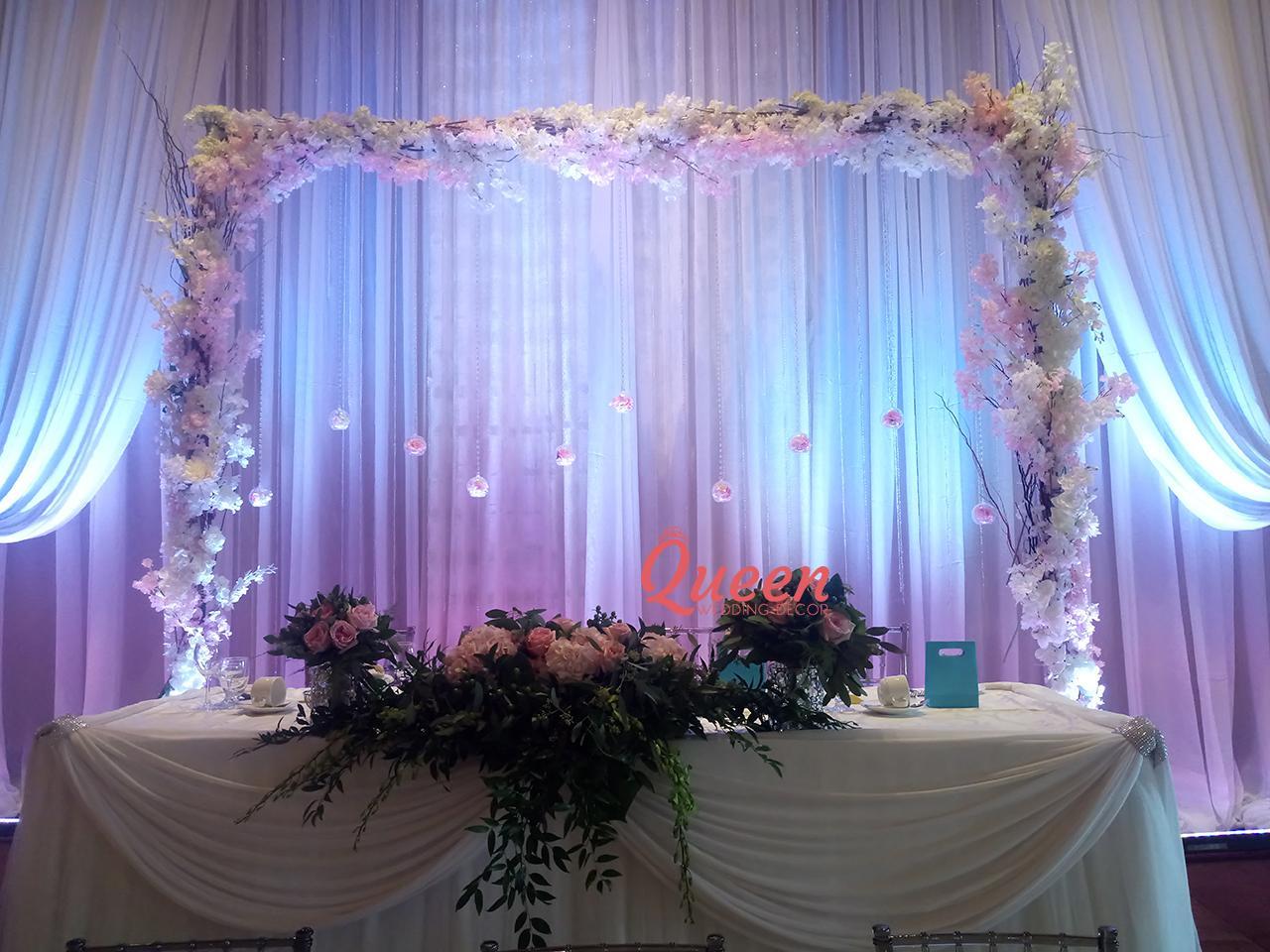 reception decor backdrop wedding decorations toronto markham and mississauga. Black Bedroom Furniture Sets. Home Design Ideas