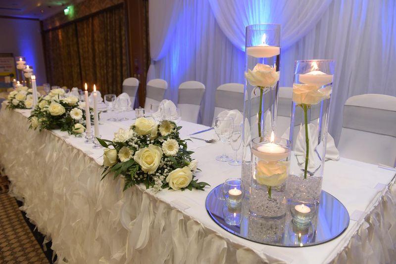 Reception Decor Centerpieces Queen Wedding Decor